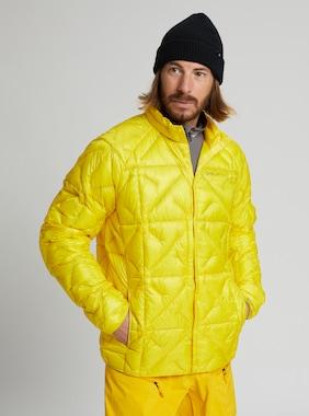 Men's Burton [ak] Baker Lite Down Jacket shown in Cyber Yellow