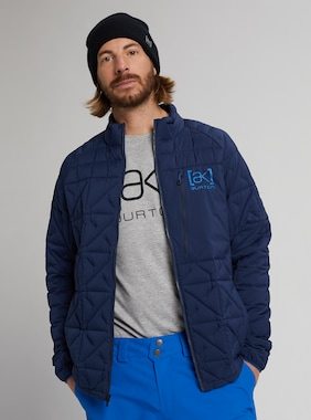 Men's Burton [ak] Baker Stretch Insulated Jacket shown in Dress Blue