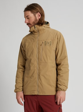 Men's Burton [ak] Helium Hooded Stretch Insulated Jacket shown in Kelp