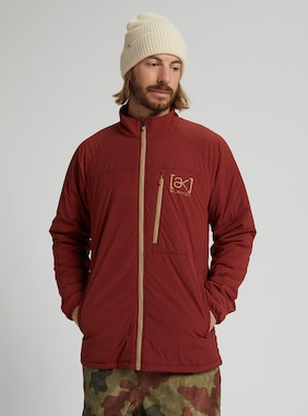 Men's Burton [ak] Helium Stretch Insulated Jacket shown in Sparrow