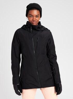 Women's Burton GORE-TEX Balsam Jacket shown in True Black
