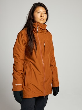 Women's Burton GORE-TEX Balsam Jacket shown in True Penny