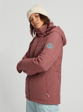 Women's Burton Tulum Stretch Jacket shown in Rose Brown