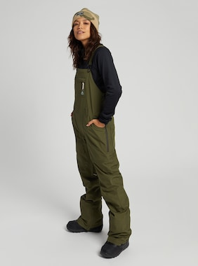 Women's Burton GORE-TEX Avalon Bib Pant shown in Keef