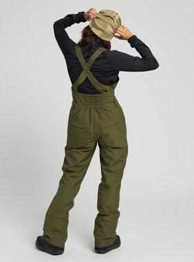 Women's Burton GORE-TEX Avalon Bib Pant shown in Keef