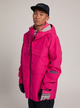 Men's Burton GORE-TEX 3L Banshey Jacket shown in Punchy Pink