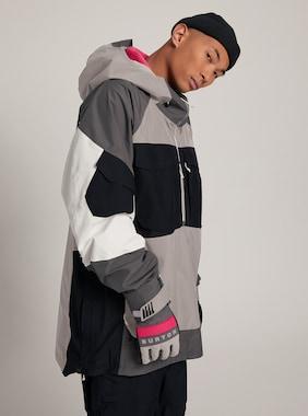 Men's Burton GORE-TEX Banshey Anorak Jacket shown in Castlerock Multi
