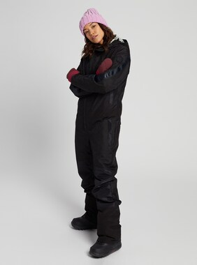 Women's Burton Larosa One Piece shown in True Black
