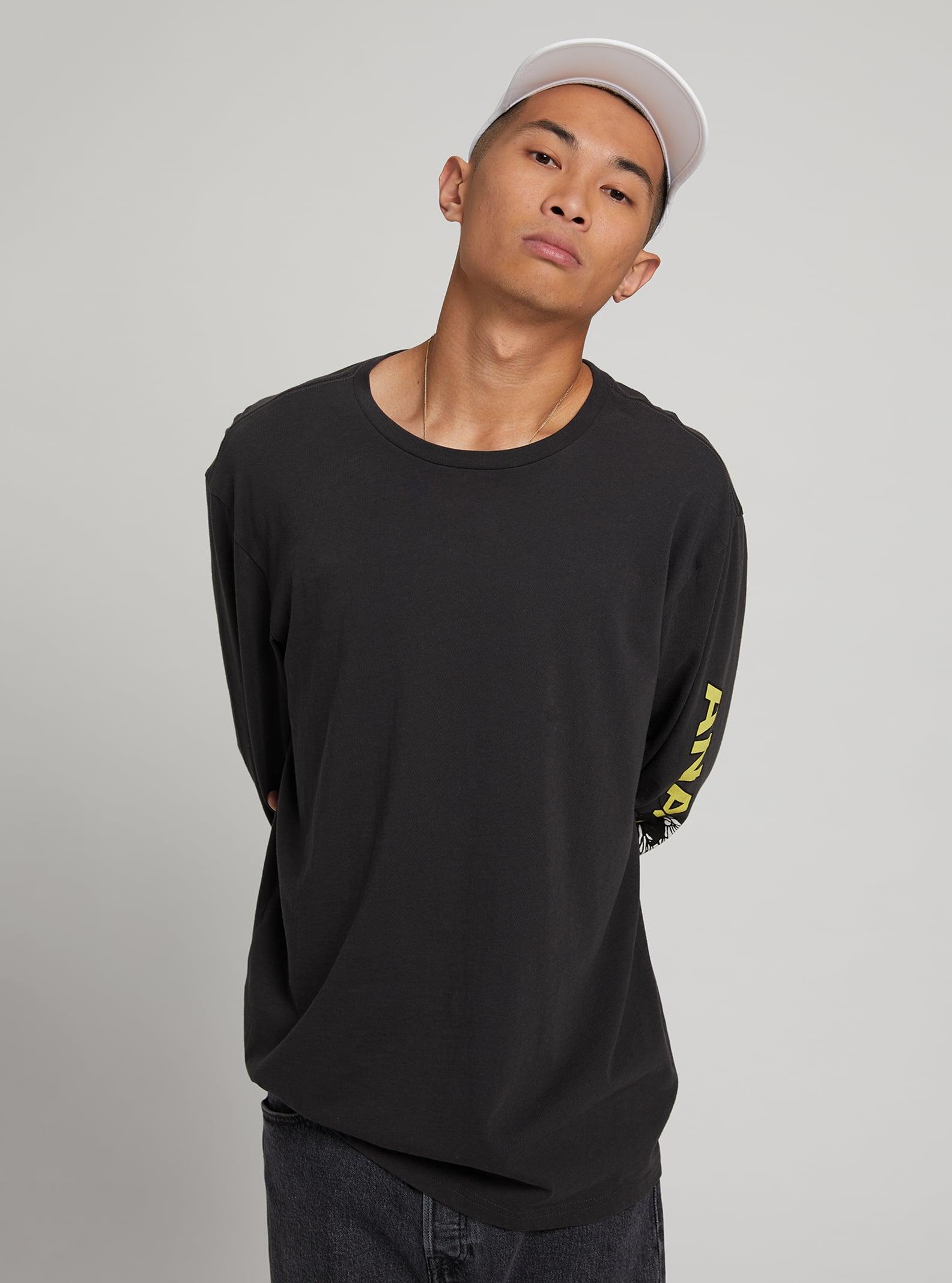 Burton Analog Blackthorne långärmad t-shirt, S