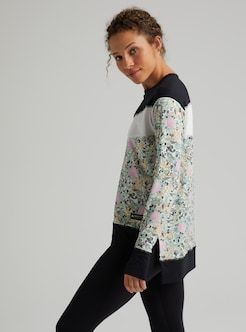Burton Luxemore Sweatshirt mit Rundhalsausschnitt für Damen
