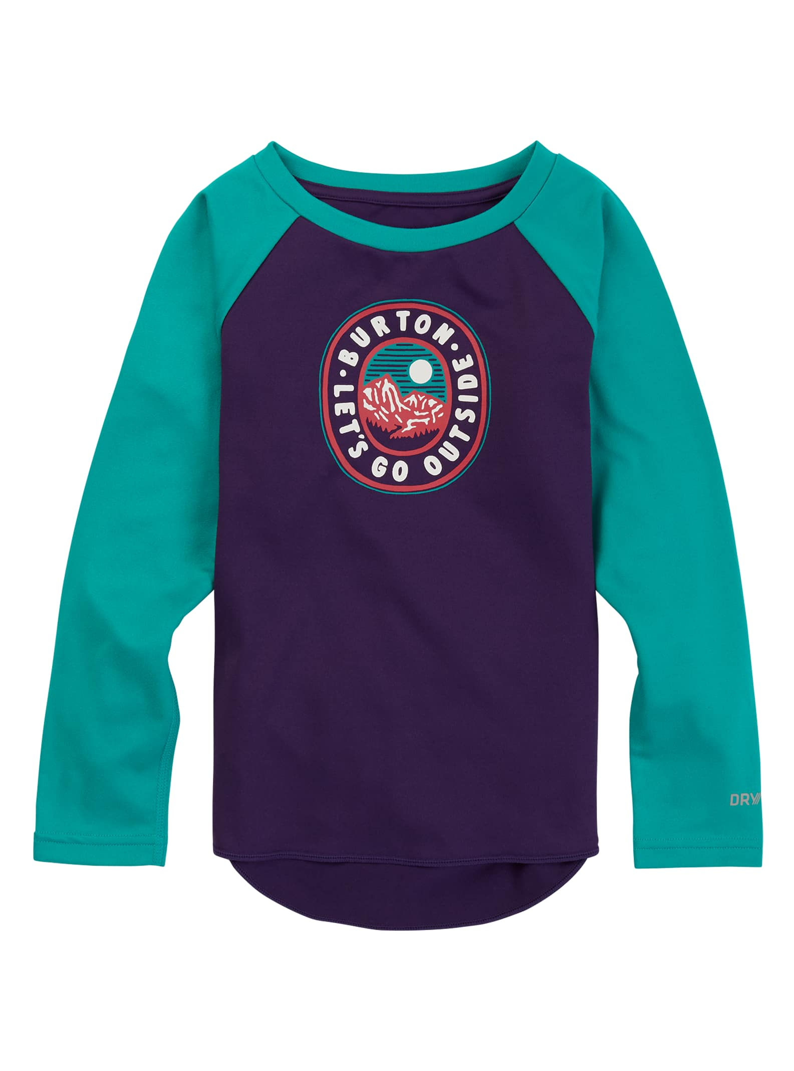 General Clothing Burton Toddlers' Midweight Base Layer Tech T-Shirt, 4T