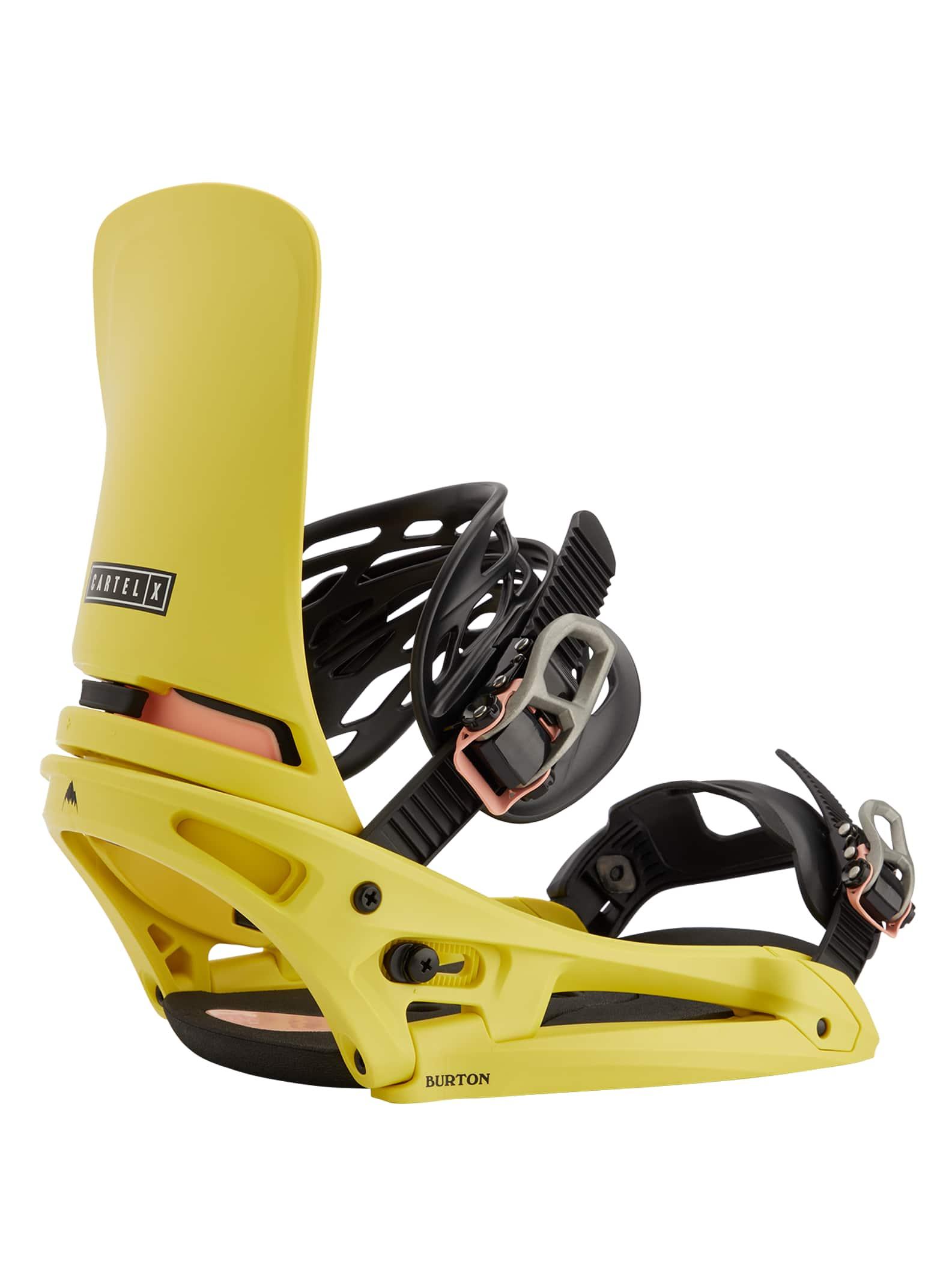 Details about  /Burton Cartel X EST Men/'s Snowboard Binding Channel 2021 New