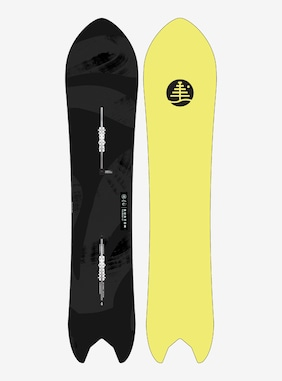 Burton Family Tree Pow Wrench Flat Top Snowboard shown in 142