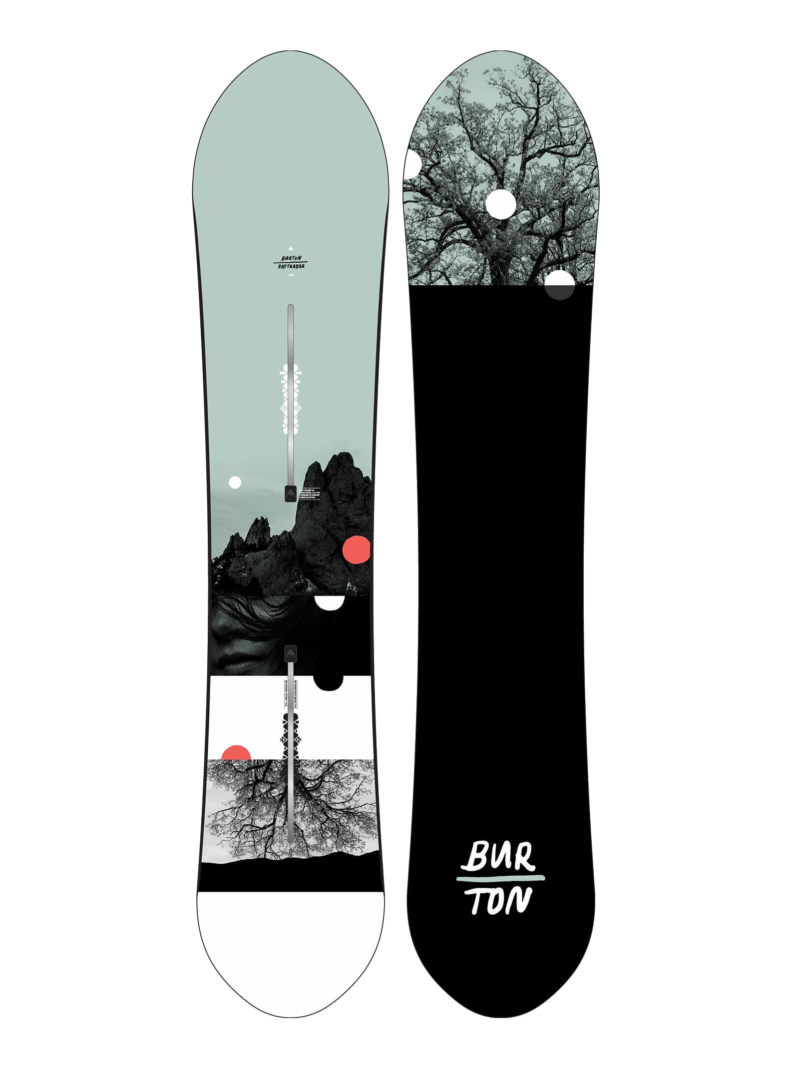 Burton Day Trader Flat Top snowboard för damer, 140