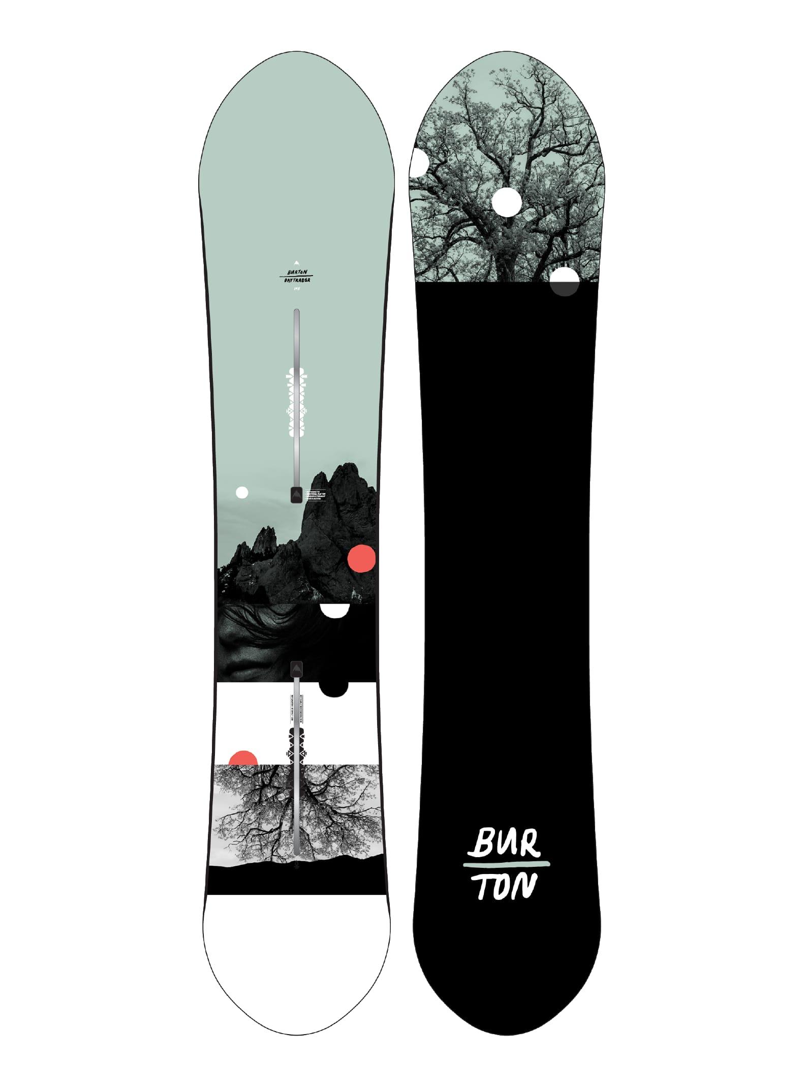 Burton Day Trader Flat Top snowboard för damer, 145