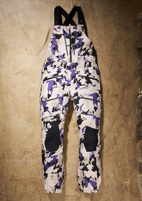 3L GORE-TEX 8-Pocket Bib Pant shown in Desert Floral Camo