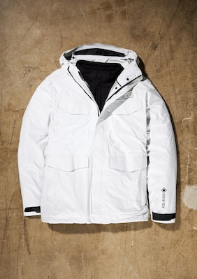 GORE-TEX 3-In-1 Edgecomb Jacket shown in Paradise White