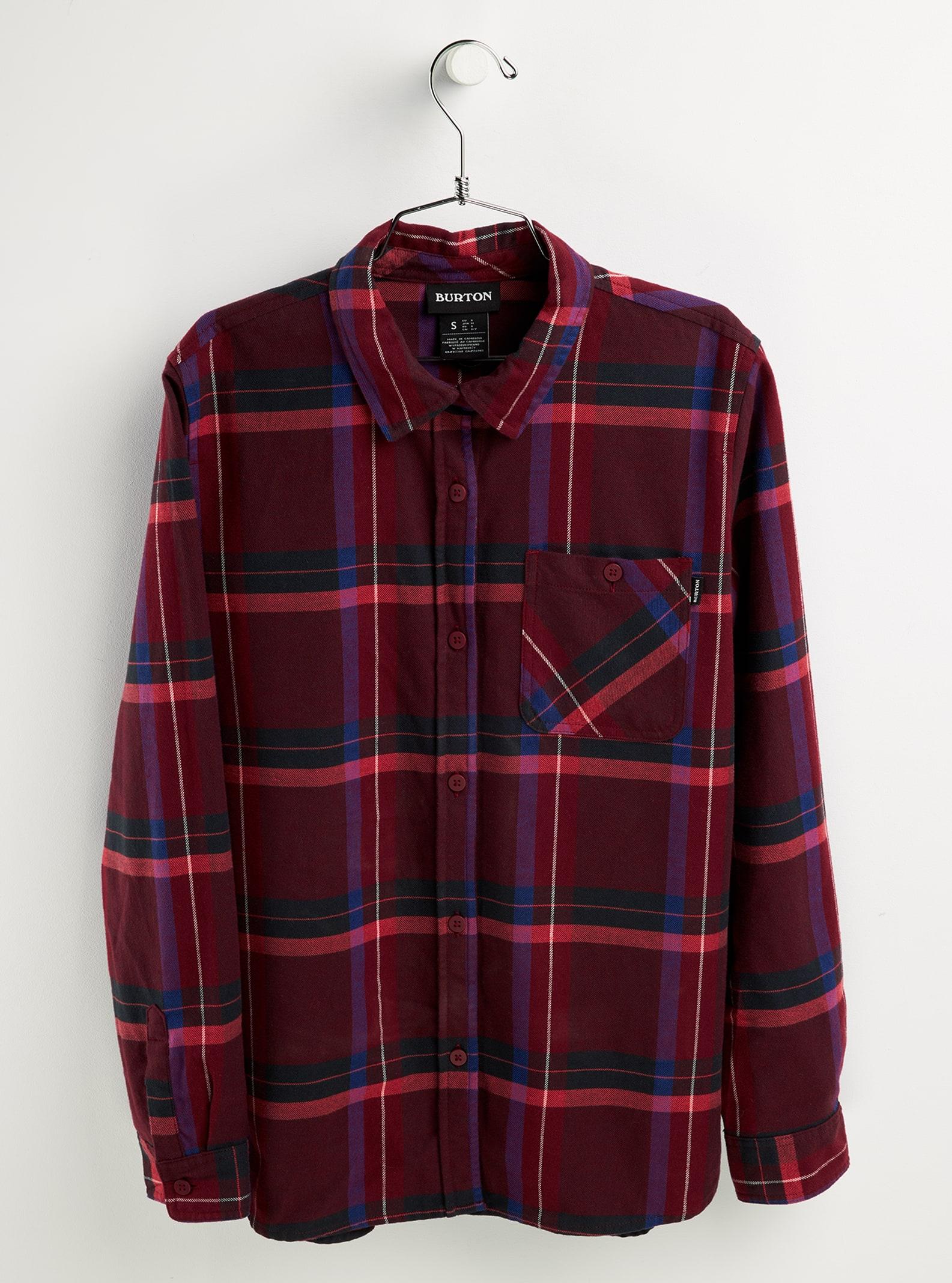 Burton Grace långärmad flanellskjorta för kvinnor, L