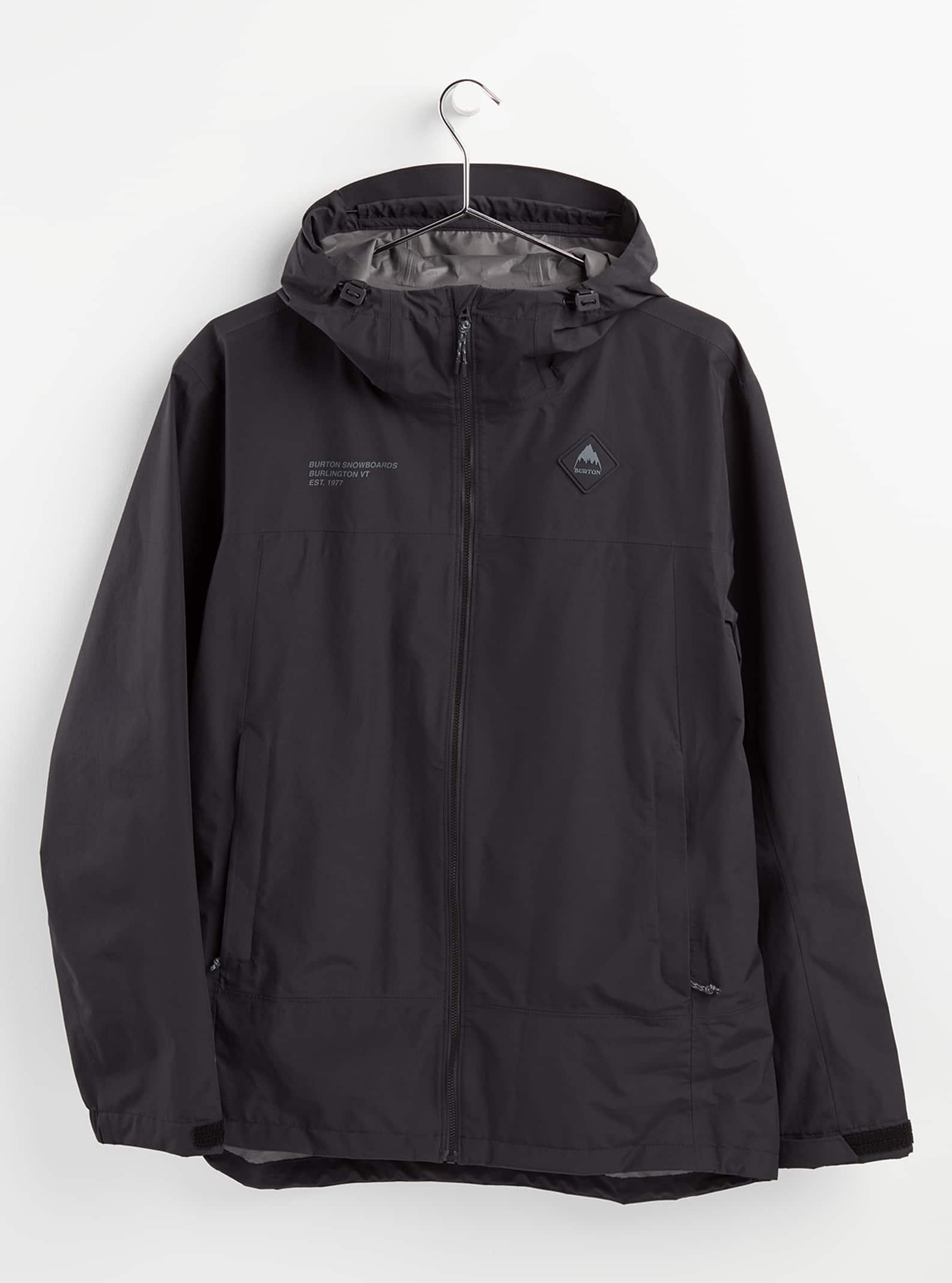 Men's Outerwear Burton Men's GORE-TEX Packrite Rain Jacket, XS