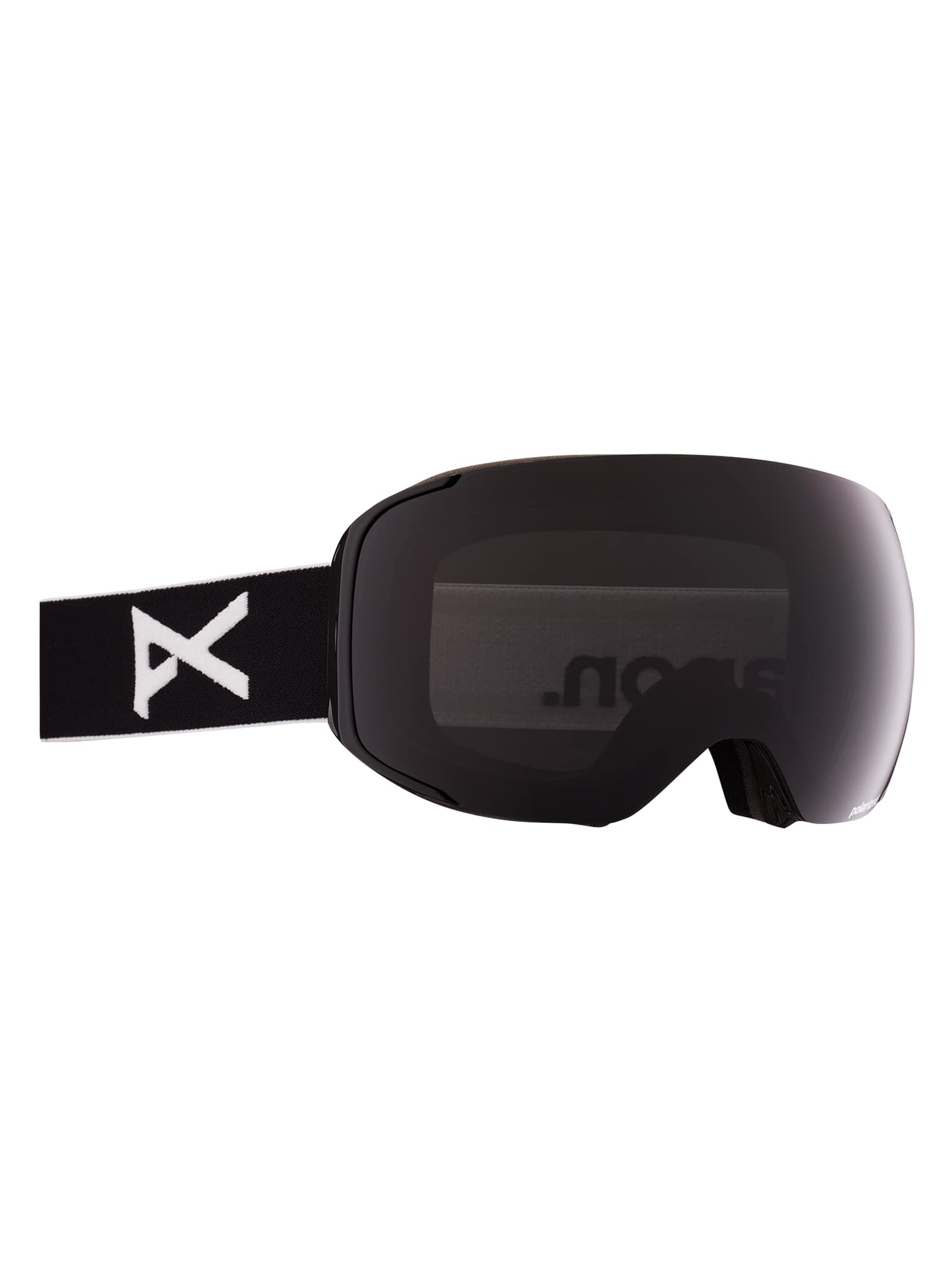 Anon M2 polariserade skidglasögon + reservlins, Frame: Black, Lens: Polar Smoke, Spare Lens: Blue Lagoon