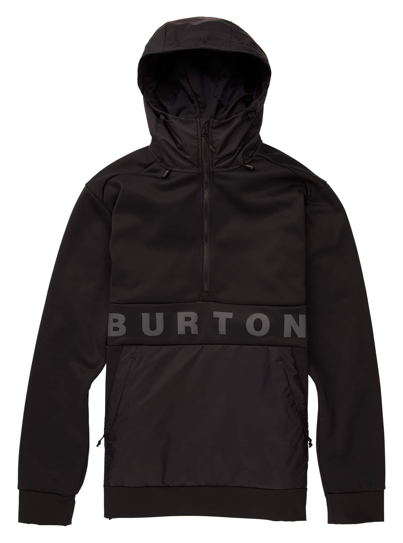 Burton Crown Bonded Performance pullovertröja i fleece, L